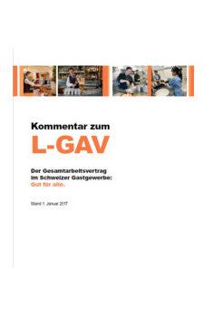 Kommentar zum L-GAV - CafetierSuisse