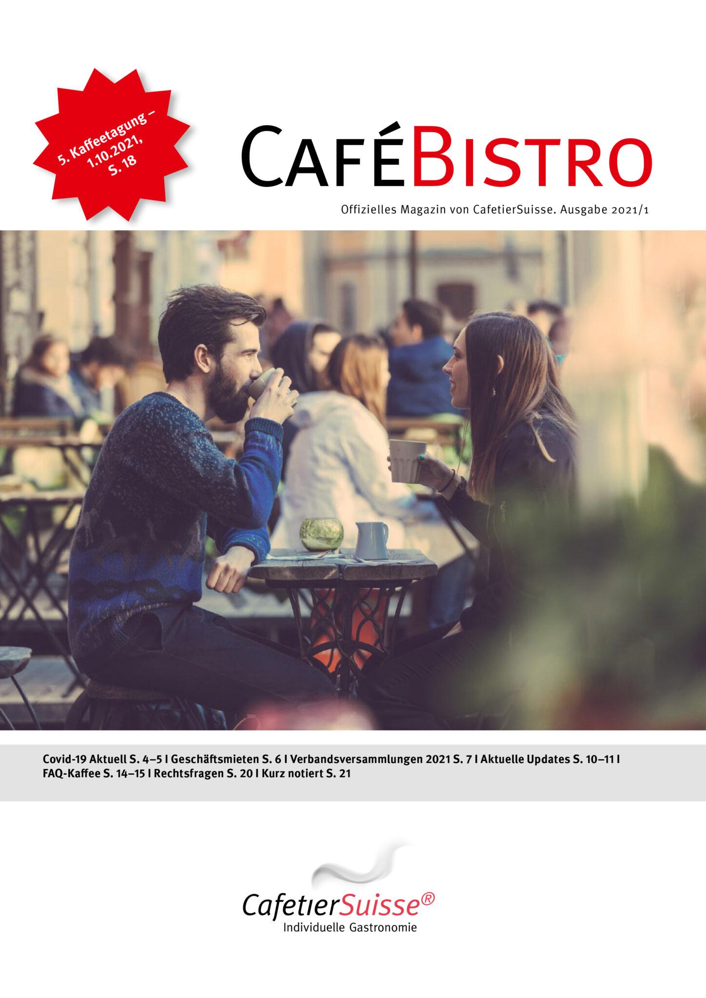 CaféBistro 1/21 - CafetierSuisse